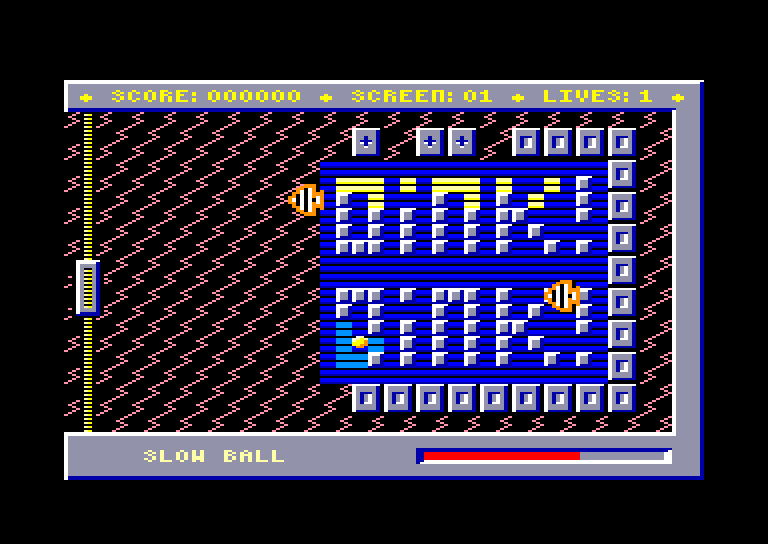 screenshot of the Amstrad CPC game Oink ! by GameBase CPC