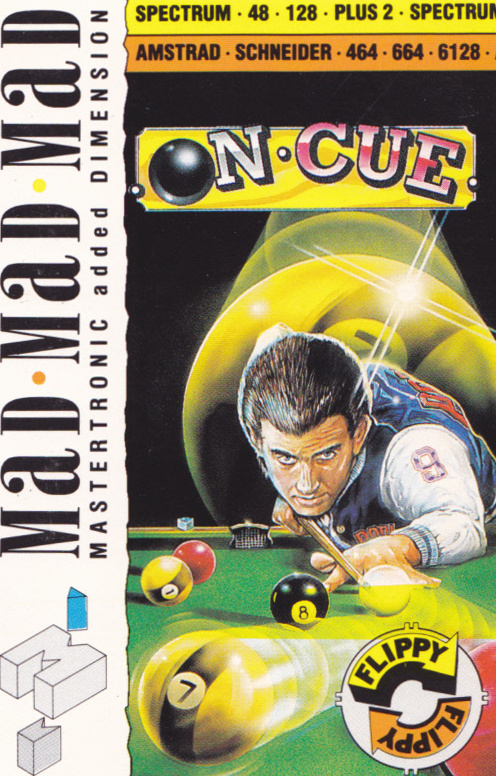 cover of the Amstrad CPC game On Cue  by GameBase CPC