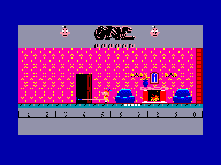 screenshot of the Amstrad CPC game One by GameBase CPC
