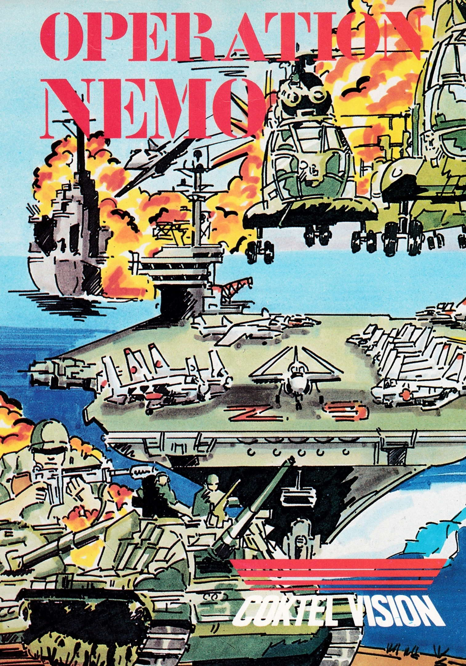 cover of the Amstrad CPC game Operation Nemo  by GameBase CPC