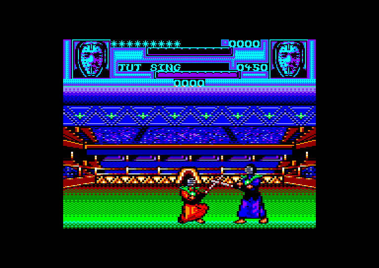 screenshot of the Amstrad CPC game Oriental Games by GameBase CPC