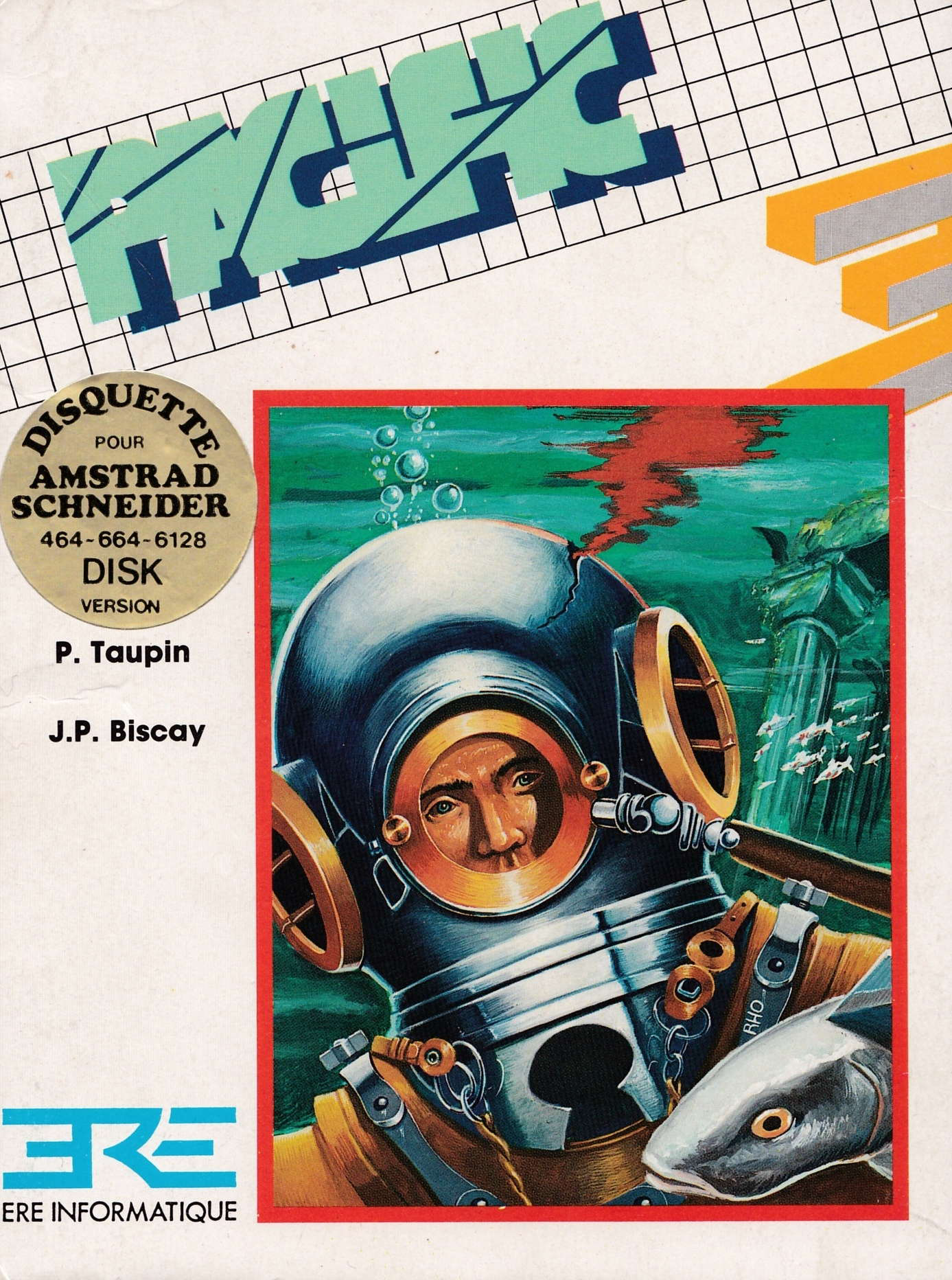 screenshot of the Amstrad CPC game Pacific by GameBase CPC