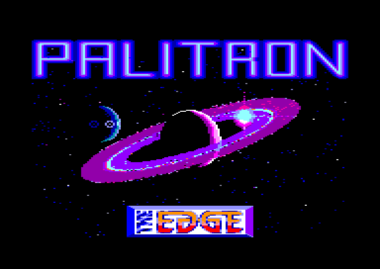 screenshot of the Amstrad CPC game Palitron by GameBase CPC