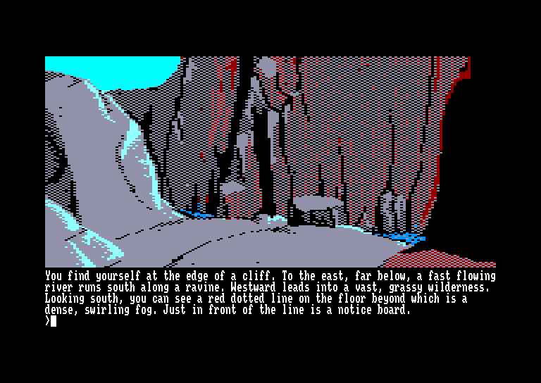 screenshot of the Amstrad CPC game Pawn (the) by GameBase CPC