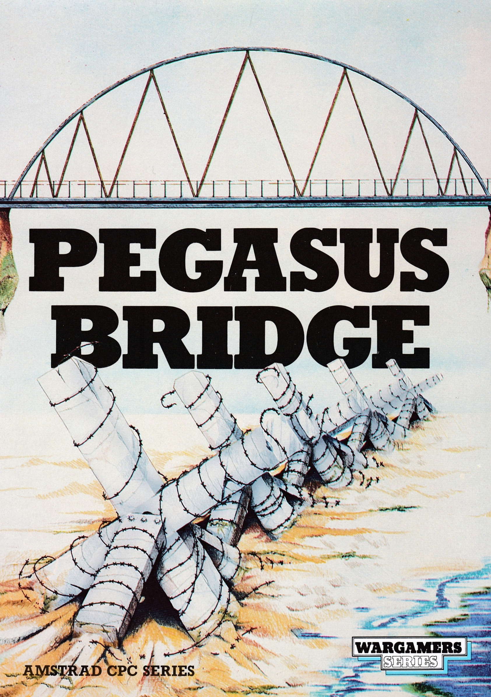 cover of the Amstrad CPC game Pegasus Bridge  by GameBase CPC