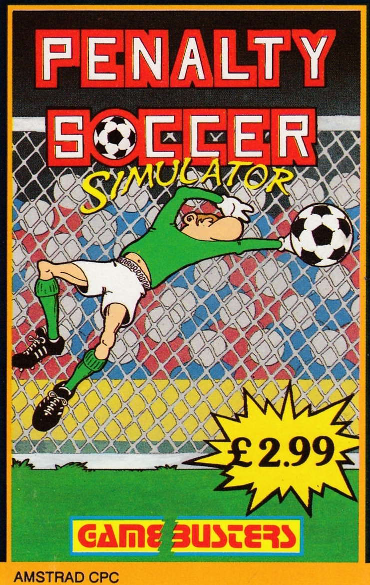 screenshot of the Amstrad CPC game Penalty soccer by GameBase CPC