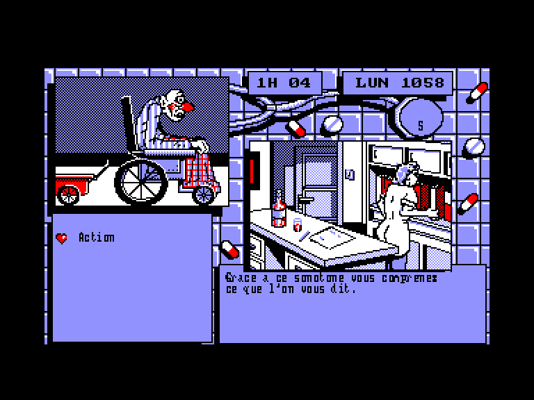 screenshot of the Amstrad CPC game Pepe Bequilles by GameBase CPC