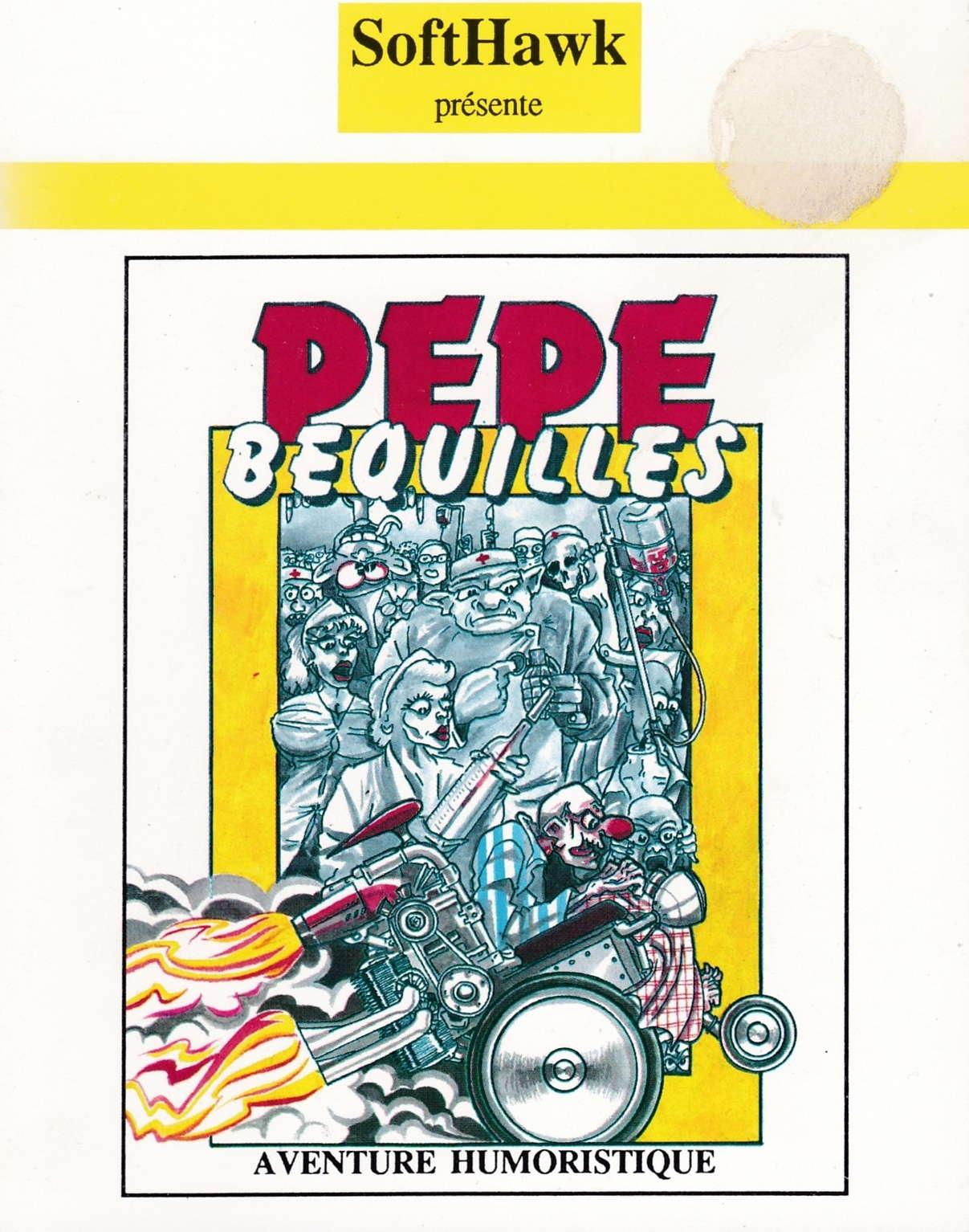 cover of the Amstrad CPC game Pepe Bequilles  by GameBase CPC