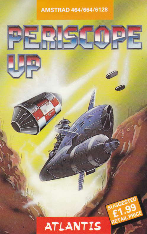 cover of the Amstrad CPC game Periscope Up  by GameBase CPC