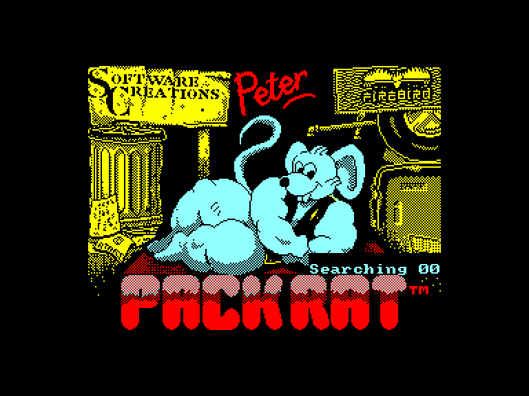 screenshot of the Amstrad CPC game Peter pack rat by GameBase CPC