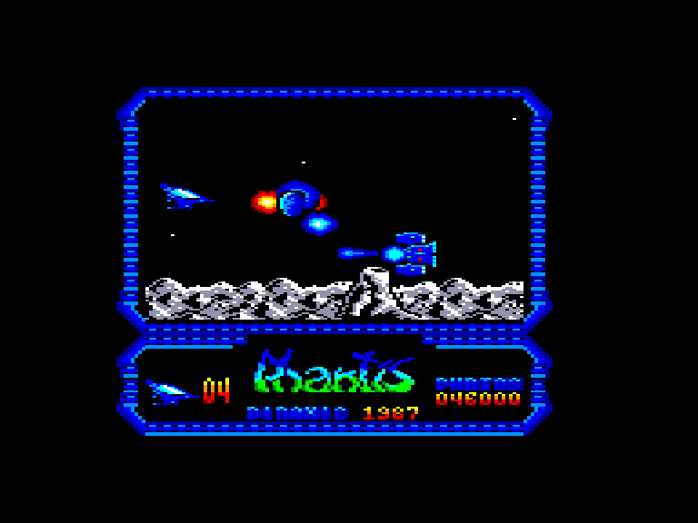 screenshot of the Amstrad CPC game Game Over II by GameBase CPC