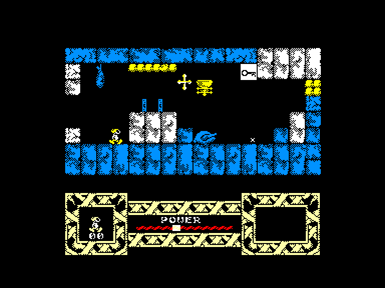 screenshot of the Amstrad CPC game Phantomas 2 by GameBase CPC