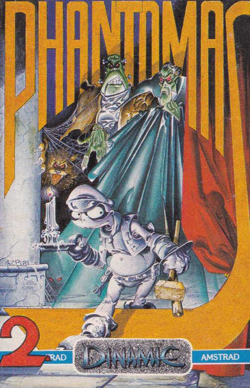 cover of the Amstrad CPC game Phantomas 2  by GameBase CPC