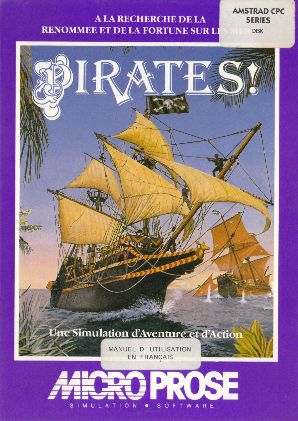 cover of the Amstrad CPC game Pirates !  by GameBase CPC