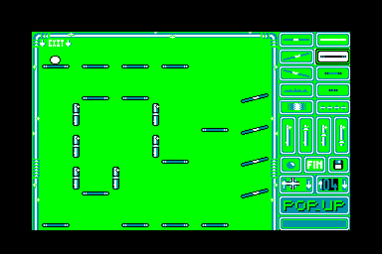 screenshot of the Amstrad CPC game Pop-Up by GameBase CPC