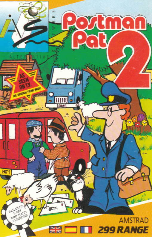 cover of the Amstrad CPC game Postman Pat 2  by GameBase CPC