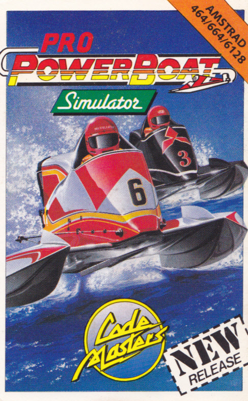 cover of the Amstrad CPC game Power Boat Simulator  by GameBase CPC