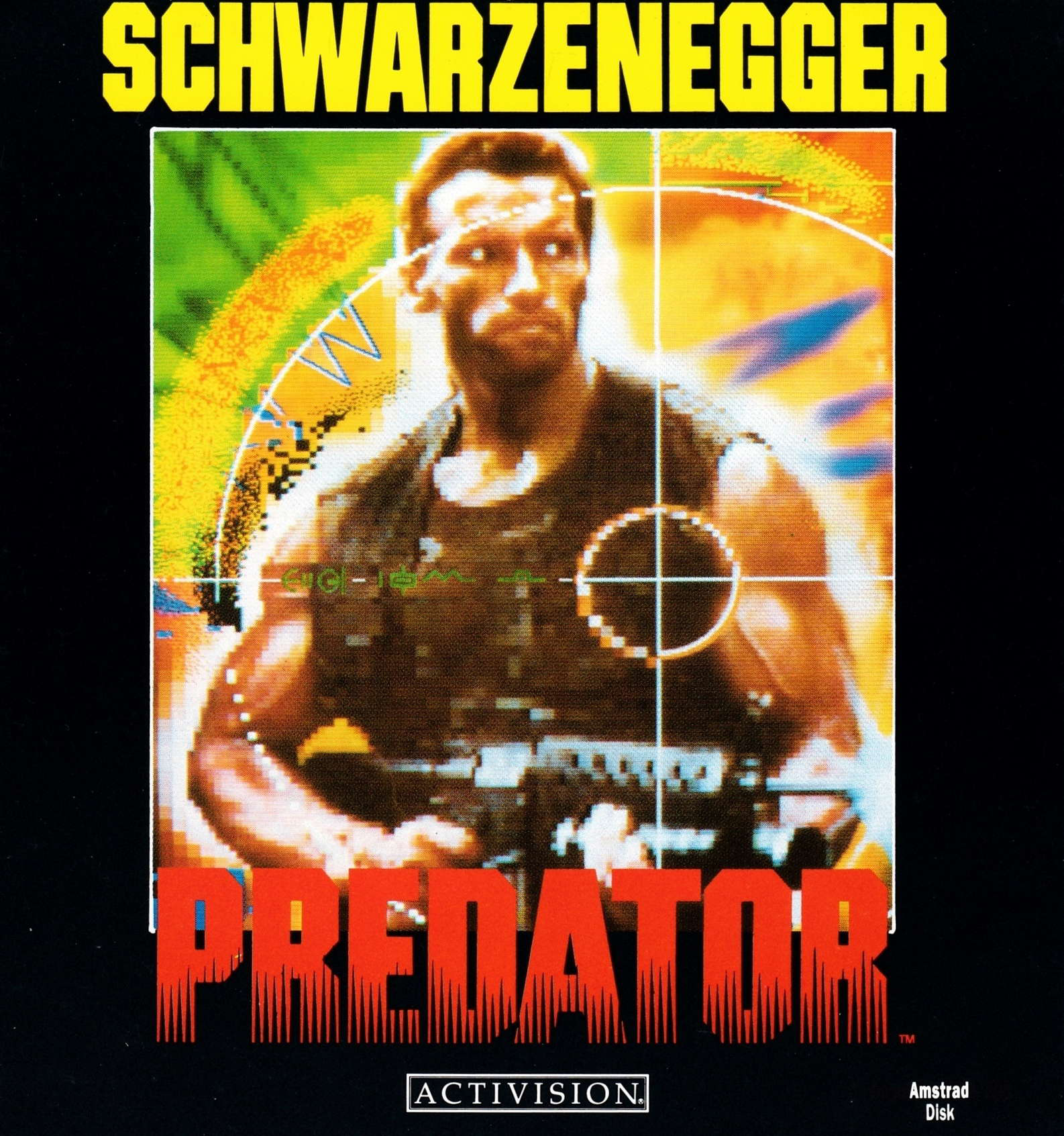 screenshot of the Amstrad CPC game Predator by GameBase CPC