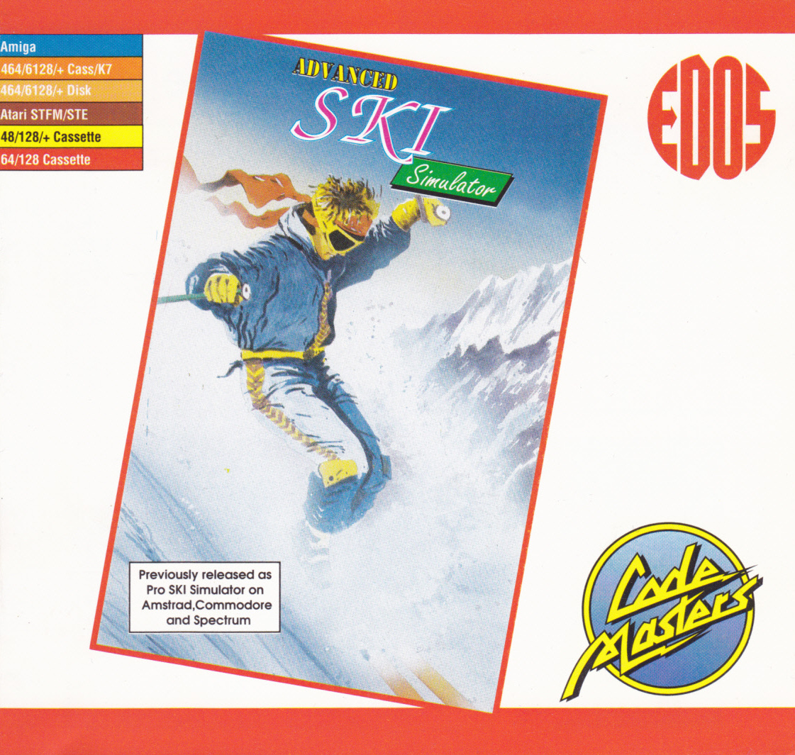 cover of the Amstrad CPC game Professional Ski Simulator  by GameBase CPC