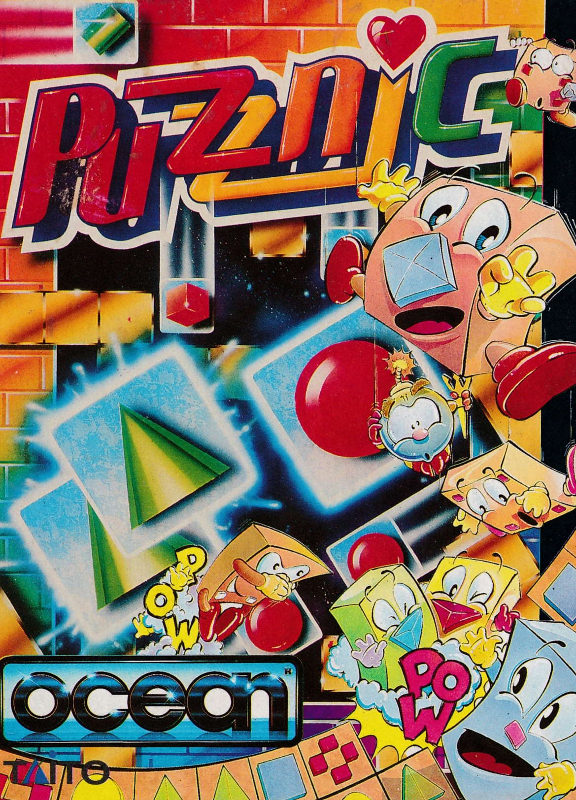 cover of the Amstrad CPC game Puzznic  by GameBase CPC
