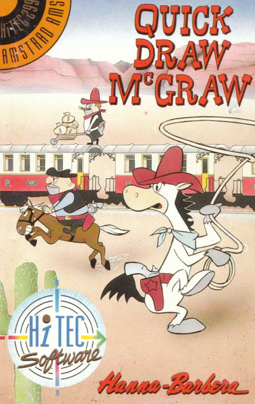 screenshot of the Amstrad CPC game Quick draw mcgraw by GameBase CPC