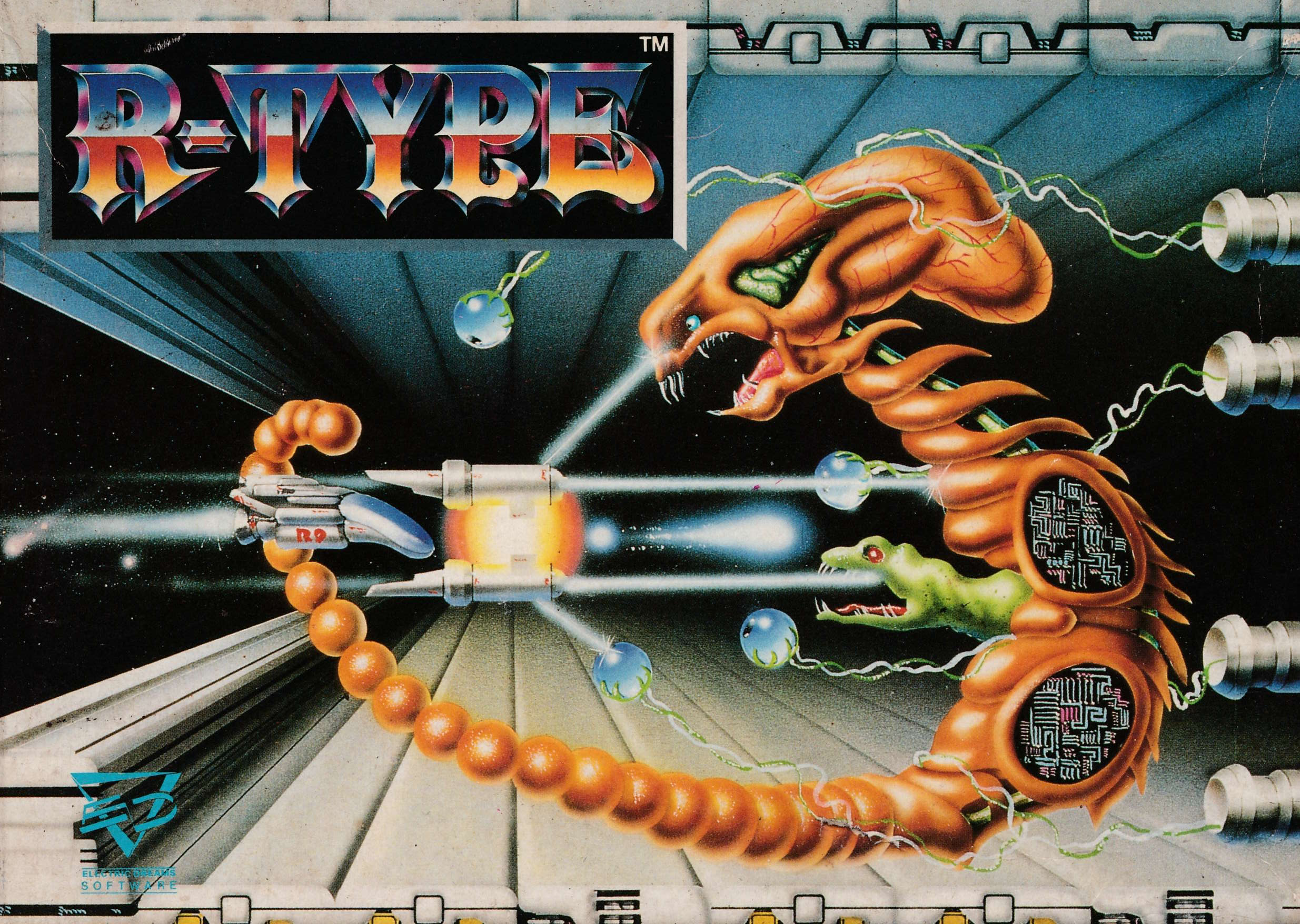 cover of the Amstrad CPC game R-Type  by GameBase CPC