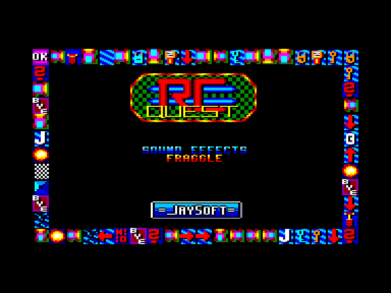 screenshot of the Amstrad CPC game Rc quest by GameBase CPC