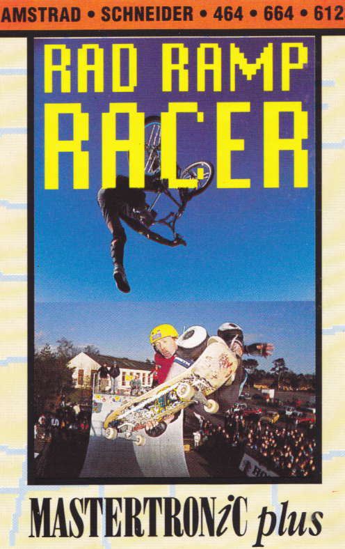 cover of the Amstrad CPC game Rad Ramp Racer  by GameBase CPC