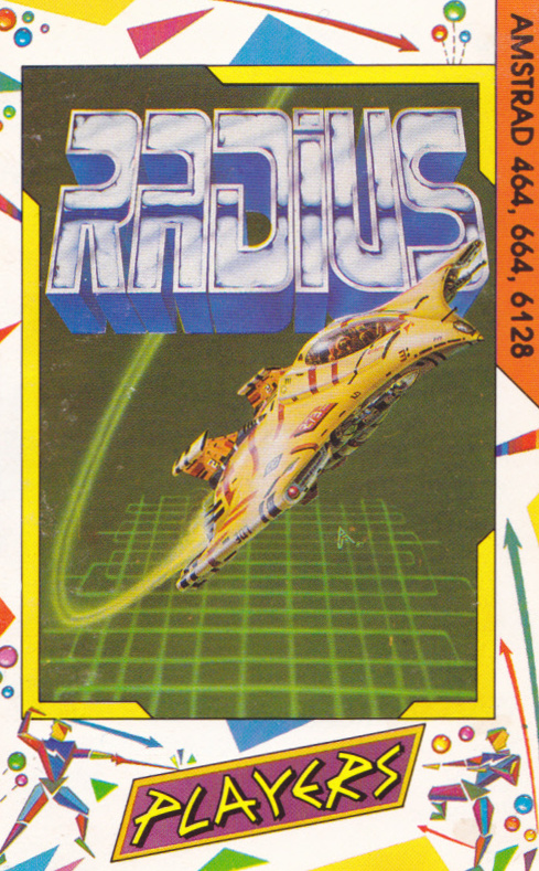 screenshot of the Amstrad CPC game Radius by GameBase CPC