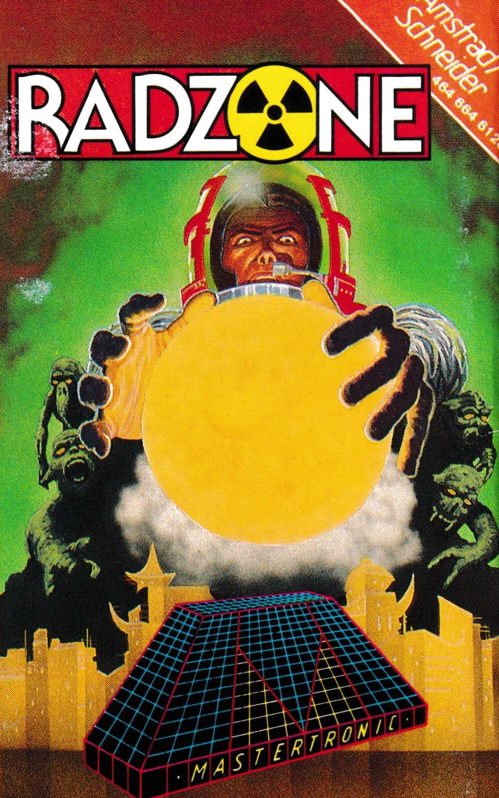 cover of the Amstrad CPC game Radzone  by GameBase CPC