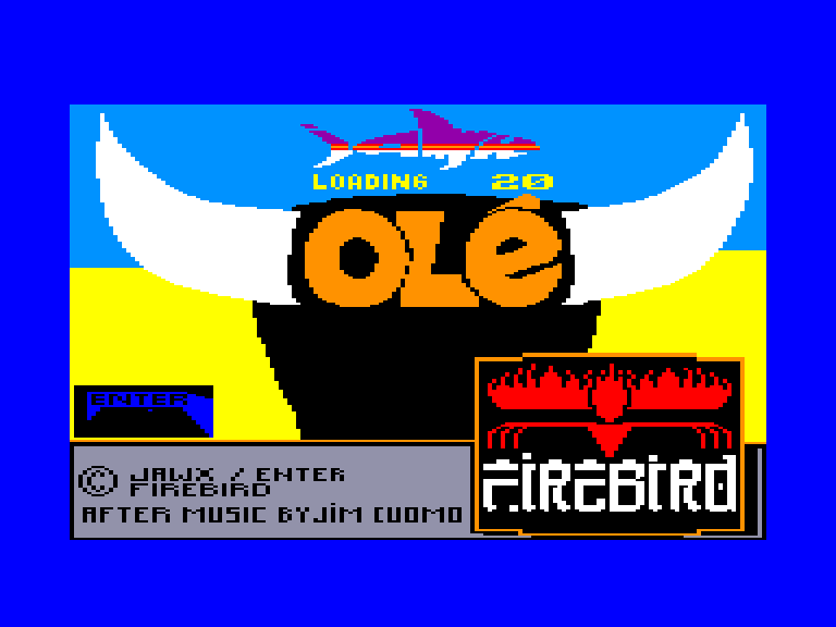 screenshot of the Amstrad CPC game Ole by GameBase CPC