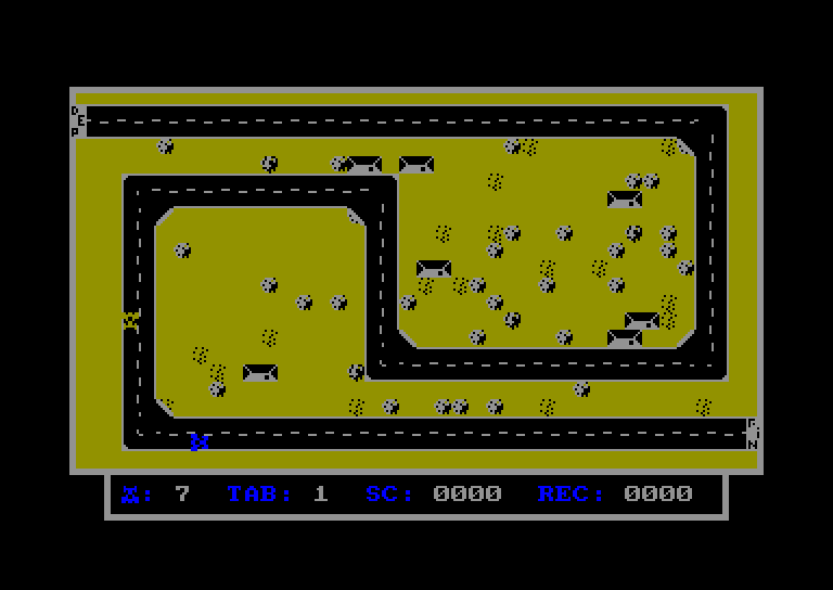 screenshot of the Amstrad CPC game Rally 22 by GameBase CPC