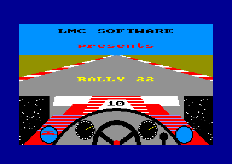 cover of the Amstrad CPC game Rally 22  by GameBase CPC