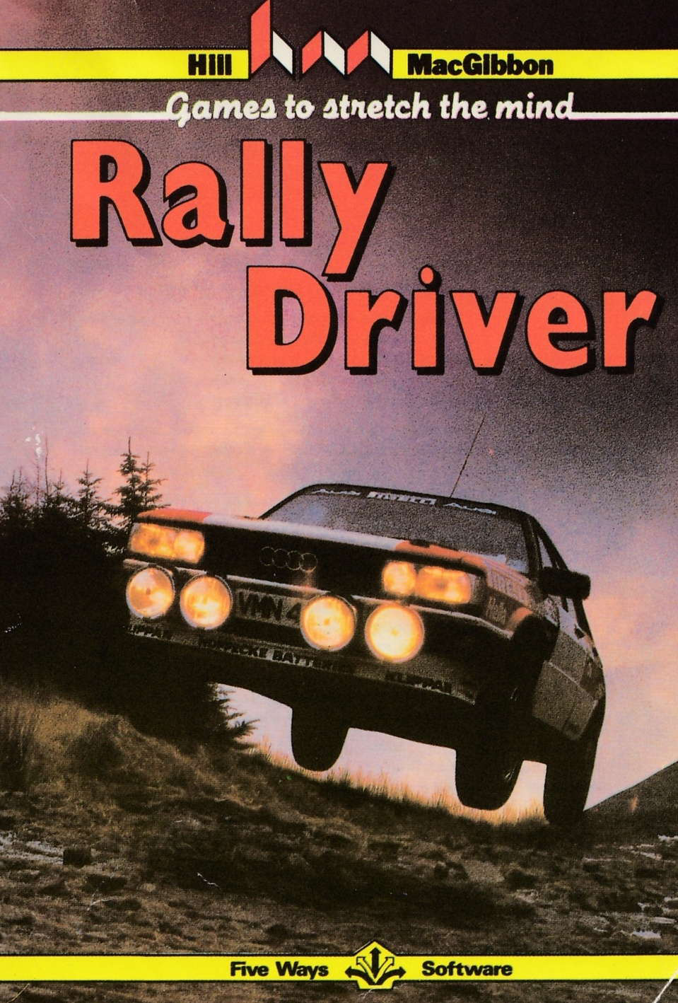 cover of the Amstrad CPC game Rally Driver  by GameBase CPC