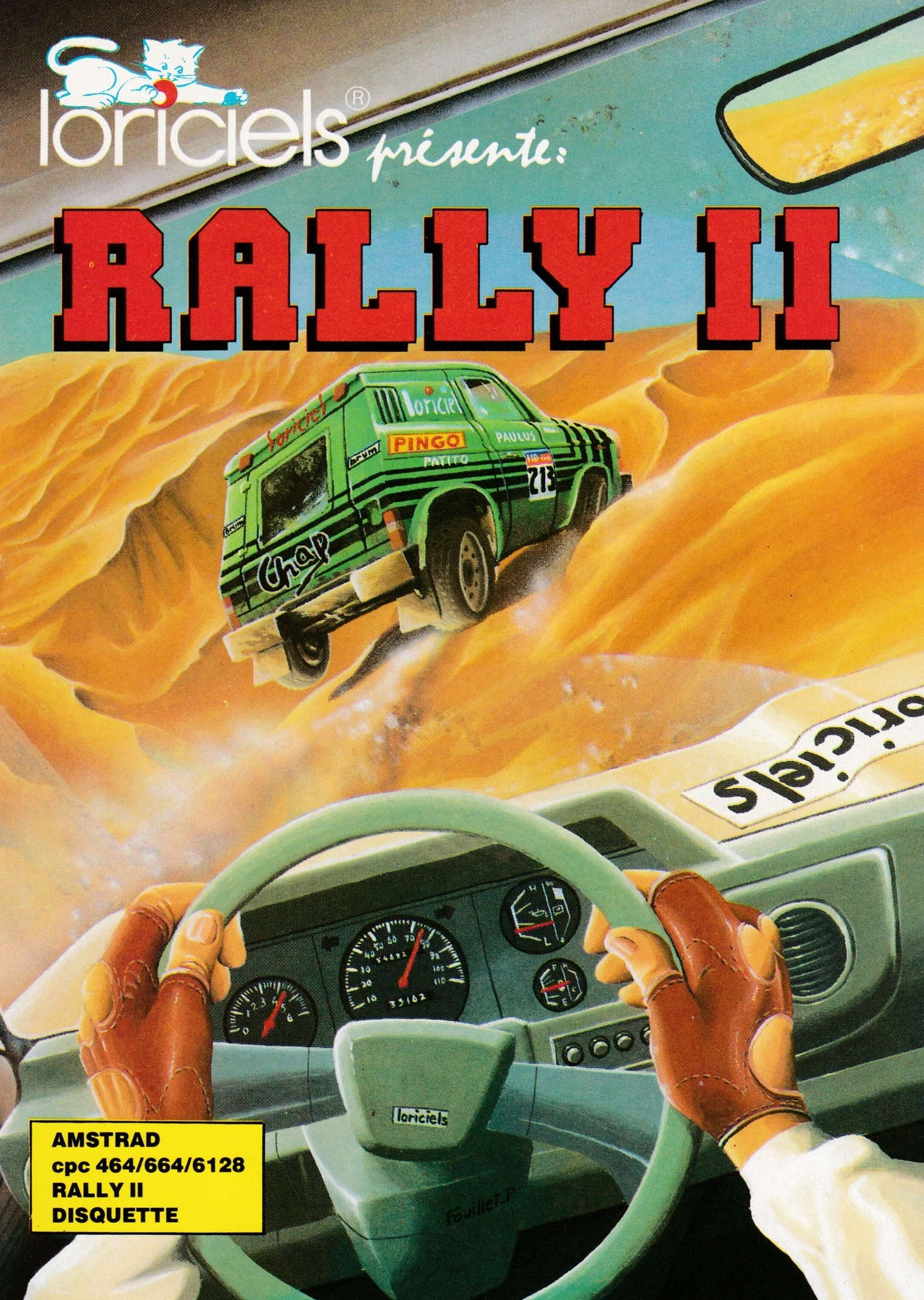 cover of the Amstrad CPC game Rally II  by GameBase CPC