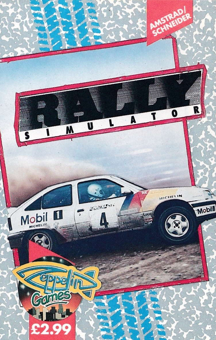 cover of the Amstrad CPC game Rally Simulator  by GameBase CPC