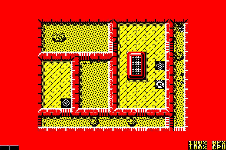 screenshot of the Amstrad CPC game Ranarama by GameBase CPC