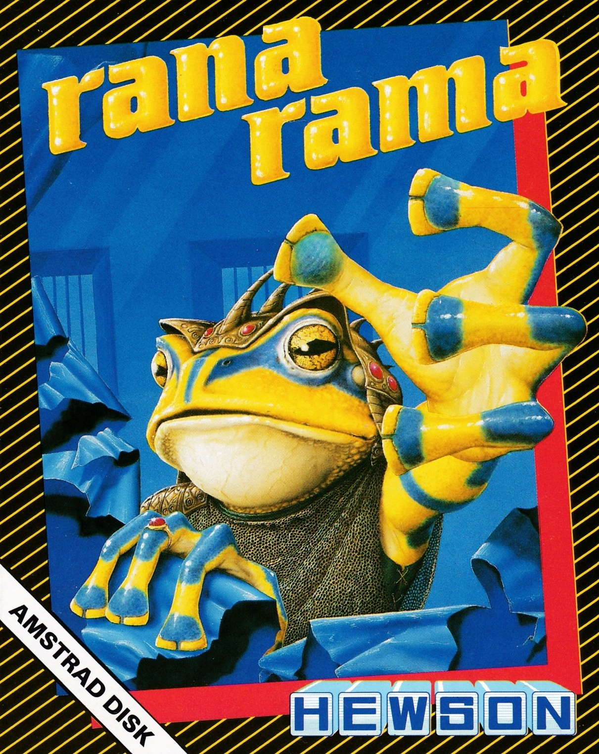 cover of the Amstrad CPC game Ranarama  by GameBase CPC