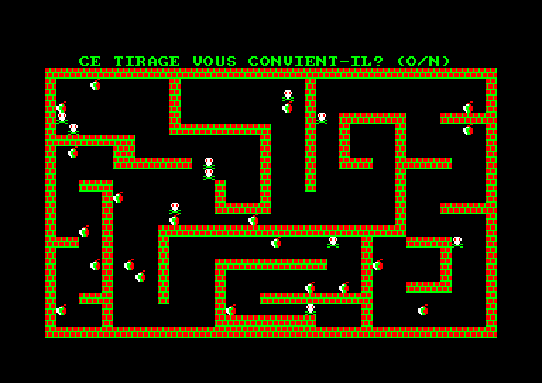 screenshot of the Amstrad CPC game Rapido by GameBase CPC
