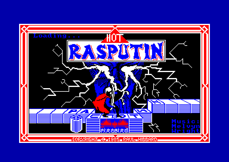 screenshot of the Amstrad CPC game Rasputin by GameBase CPC