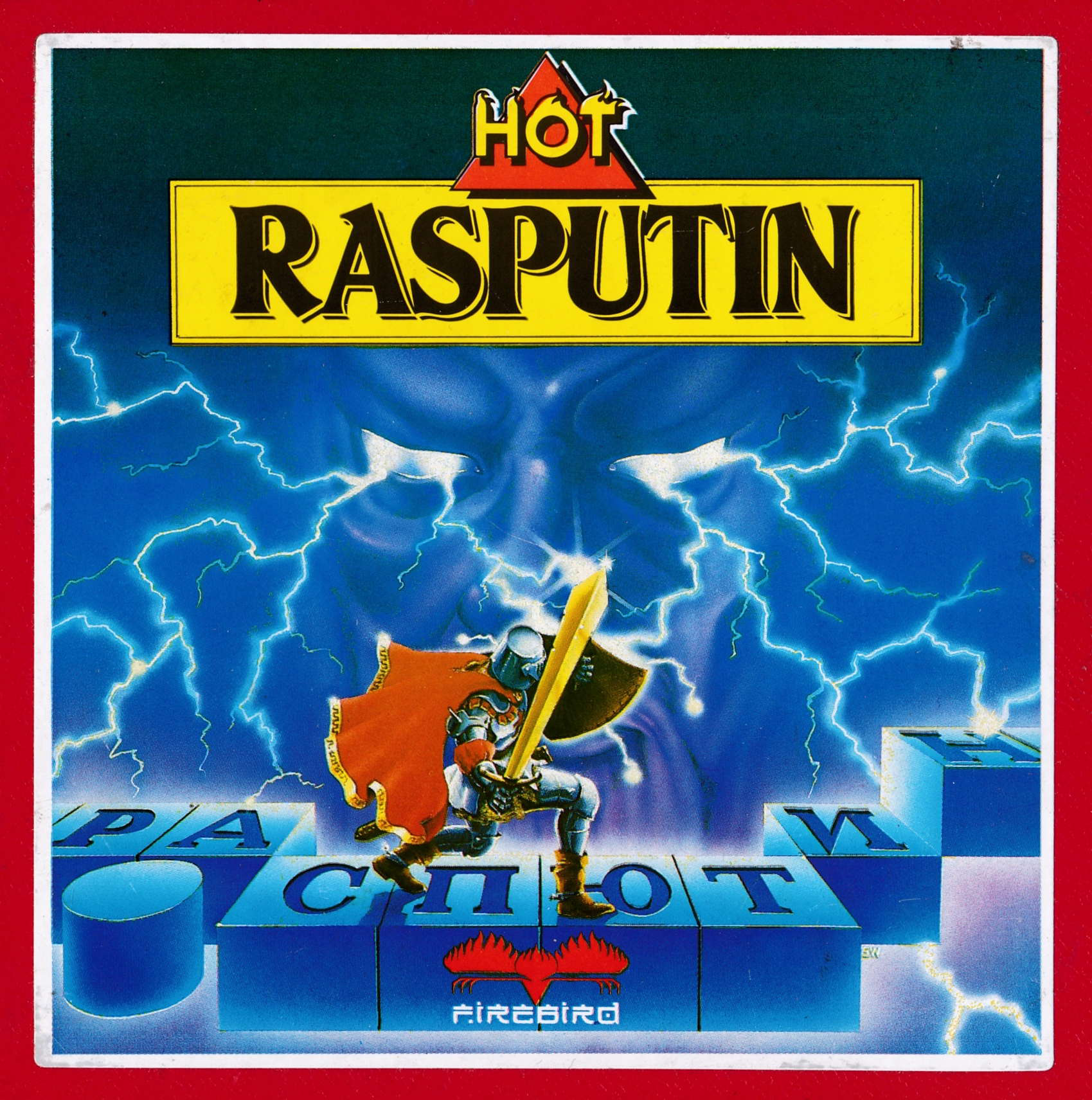 cover of the Amstrad CPC game Rasputin  by GameBase CPC