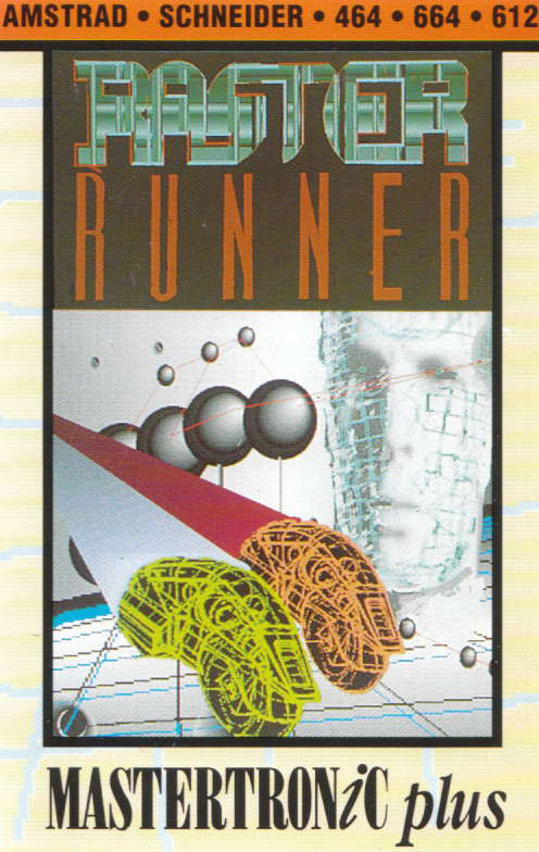 cover of the Amstrad CPC game Raster Runner  by GameBase CPC