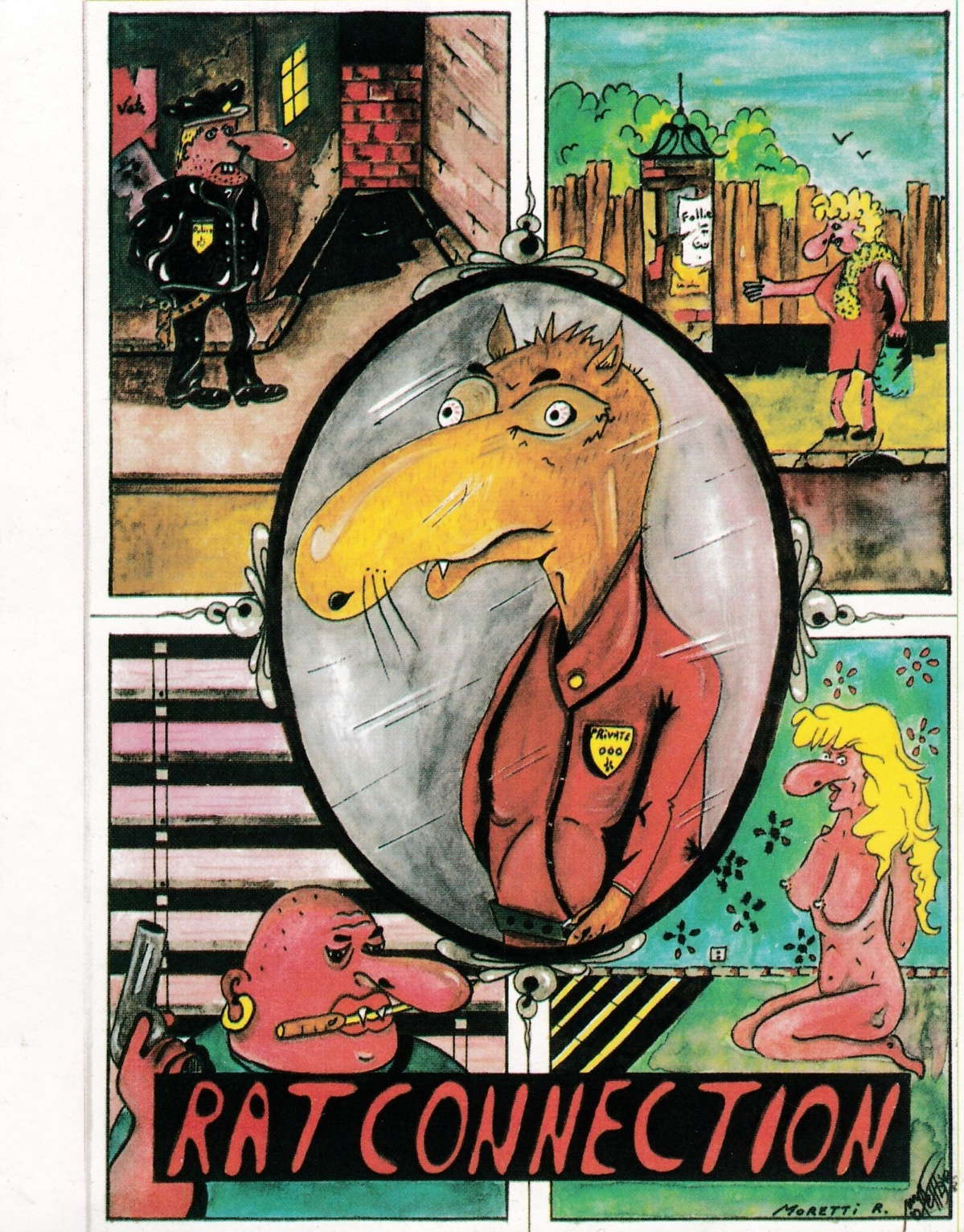 cover of the Amstrad CPC game Rat Connection  by GameBase CPC