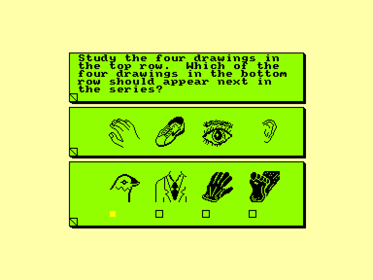 screenshot of the Amstrad CPC game Real you (the) by GameBase CPC