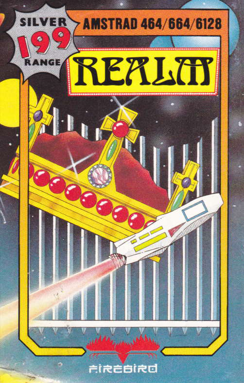 screenshot of the Amstrad CPC game Realm by GameBase CPC