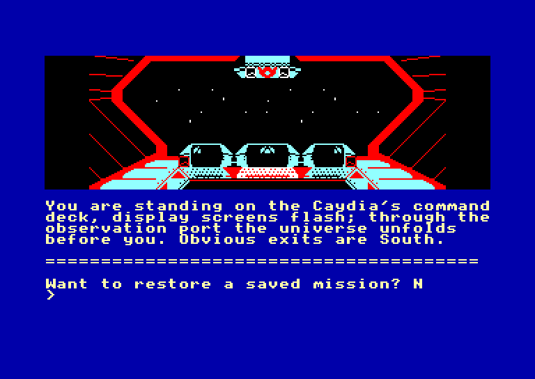screenshot of the Amstrad CPC game Rebel planet by GameBase CPC
