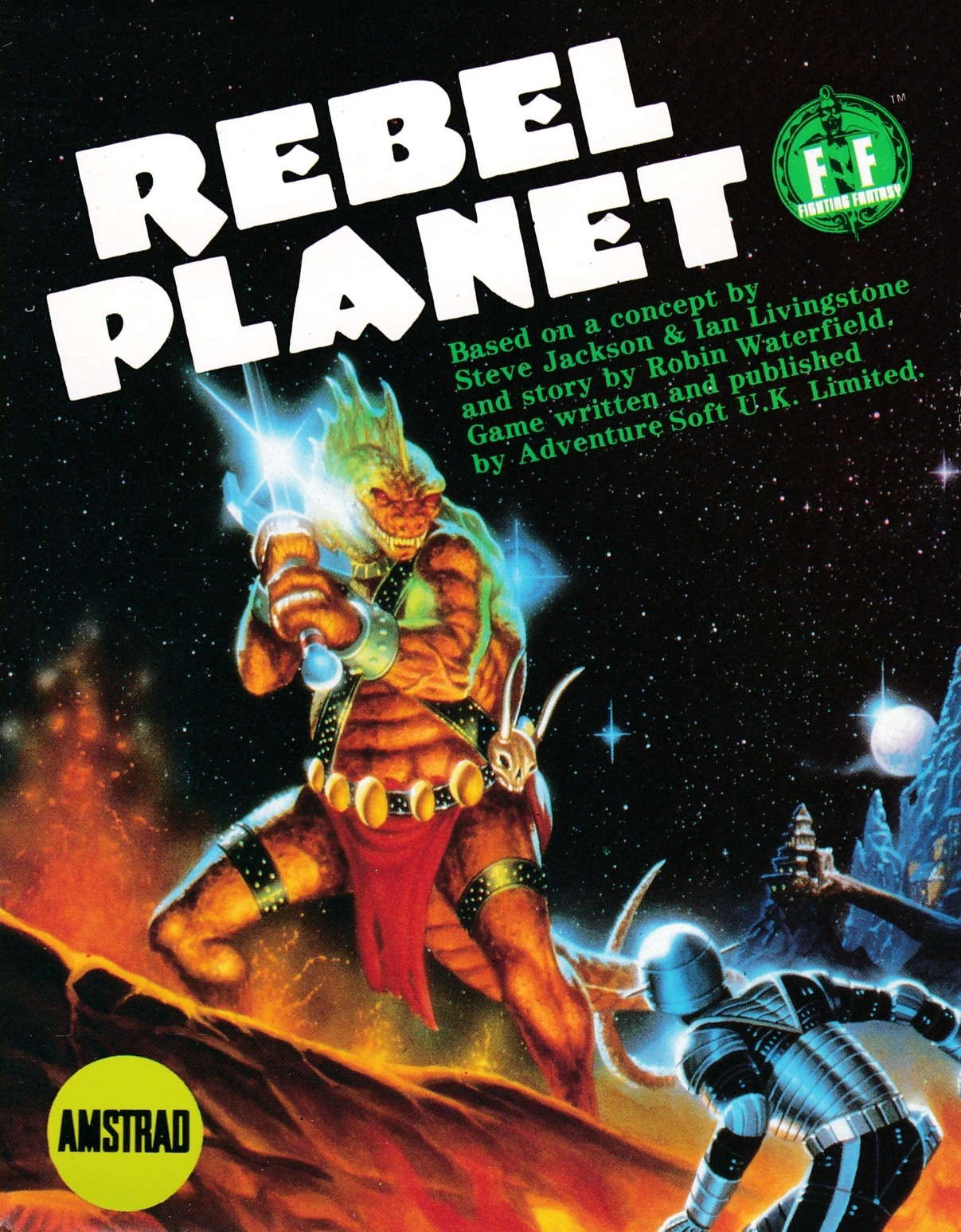 cover of the Amstrad CPC game Rebel Planet  by GameBase CPC