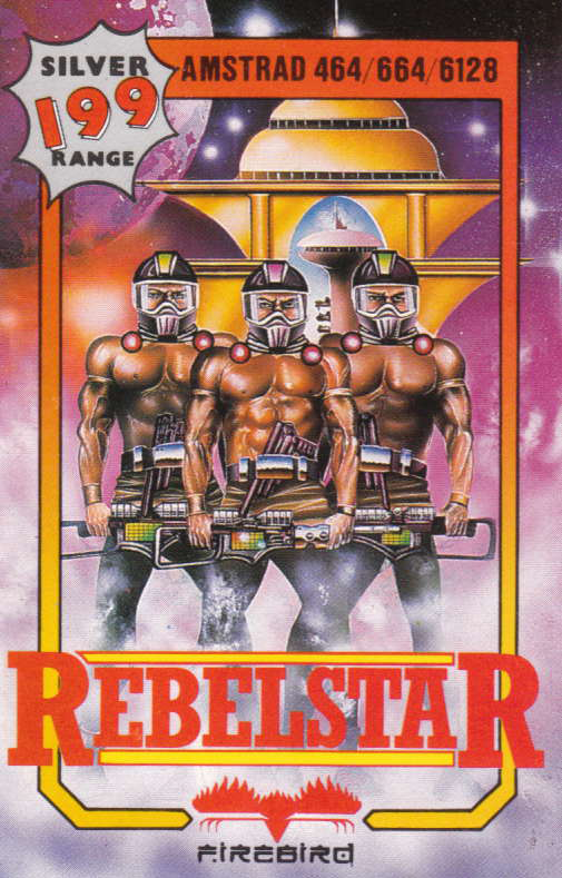 cover of the Amstrad CPC game Rebelstar  by GameBase CPC
