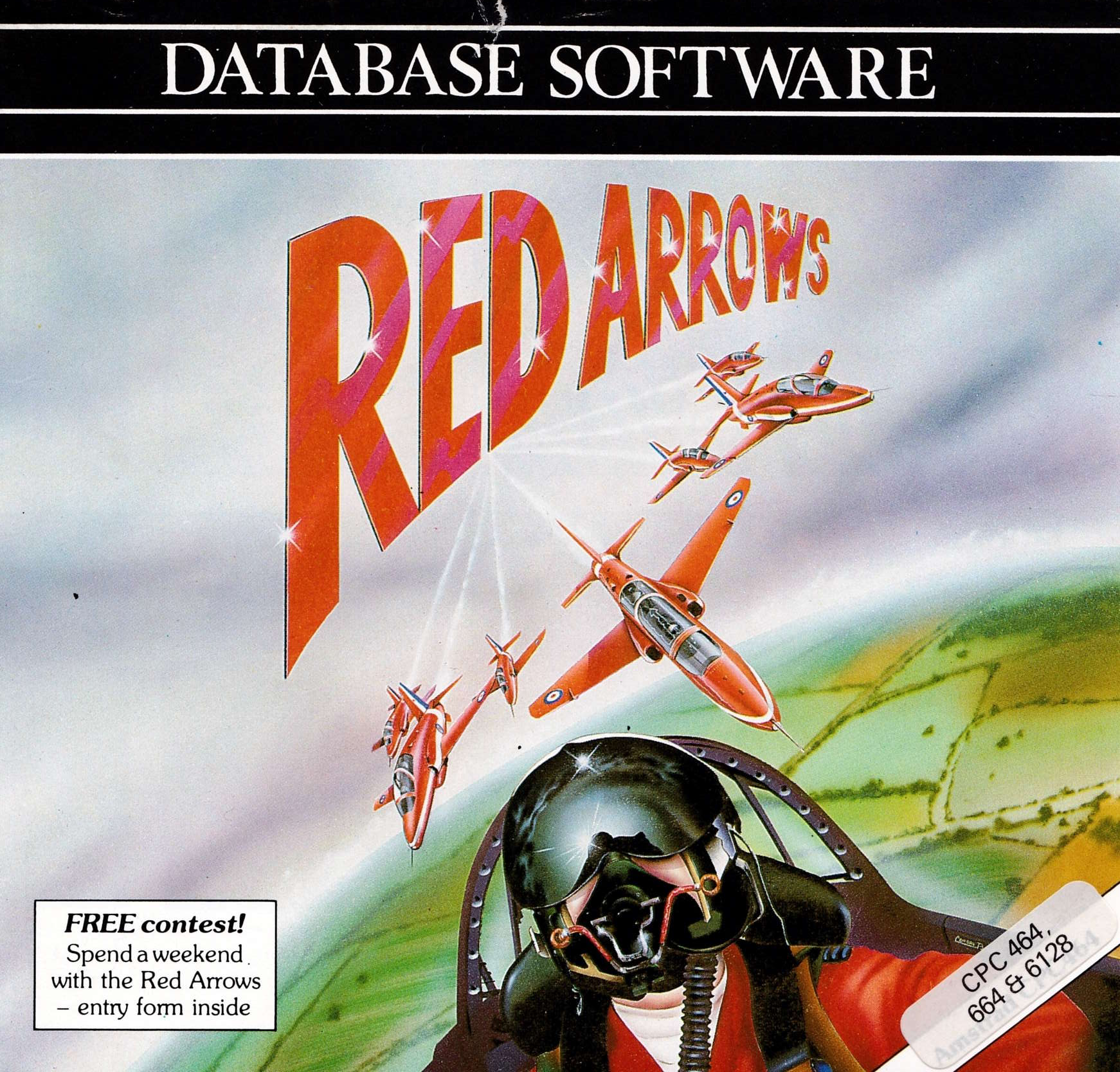 cover of the Amstrad CPC game Red Arrows  by GameBase CPC