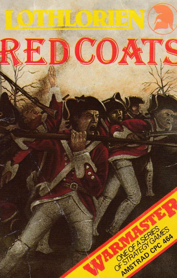 cover of the Amstrad CPC game Red Coats  by GameBase CPC